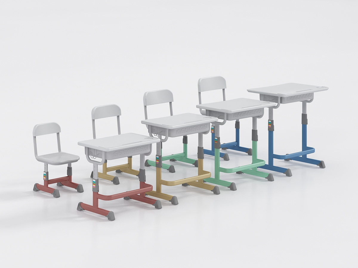 课桌椅正确坐姿,对青少年的重要性!